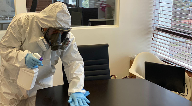 commercial disinfecting services